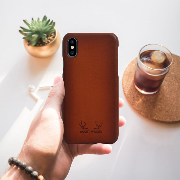 Havana iPhone XS Case - Tan