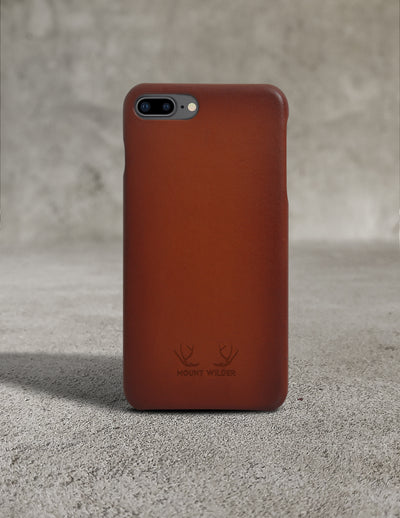Havana iPhone 8 Plus Case - Tan