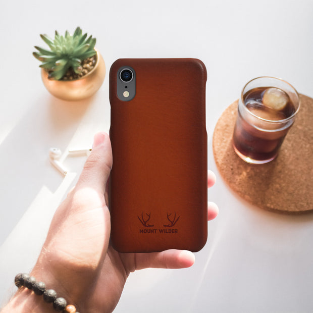 Havana iPhone XR Case - Tan