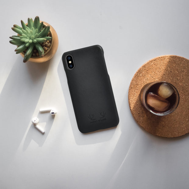 Havana iPhone XS Case - Charcoal