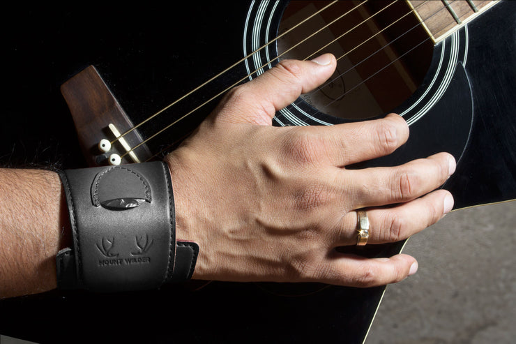 Havana Guitarist Wrist Band - Charcoal