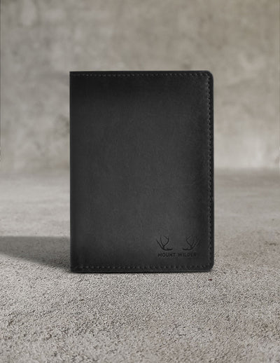 Havana Passport Holder - Charcoal