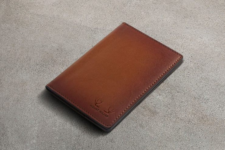 Havana Passport Holder - Tan