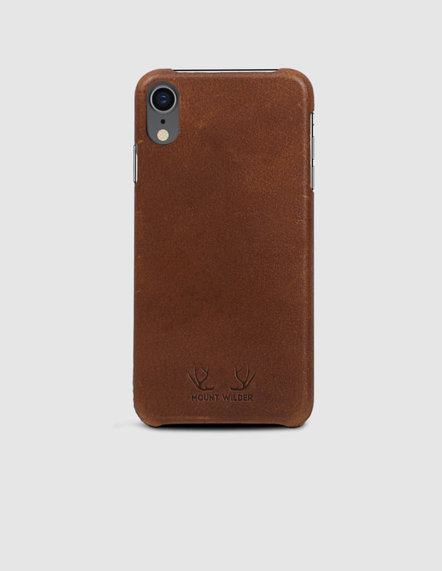 Oslo iPhone XR Case - Tan (Brown)