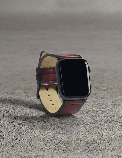 Havana Apple Watch Strap - Lava