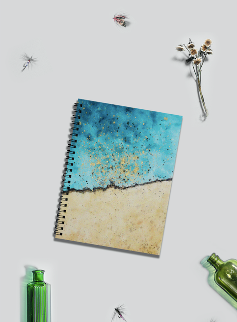Tidal Notebook by Nisha