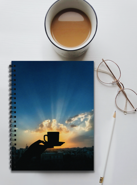 Chai Pakoda Notebook by Zaid