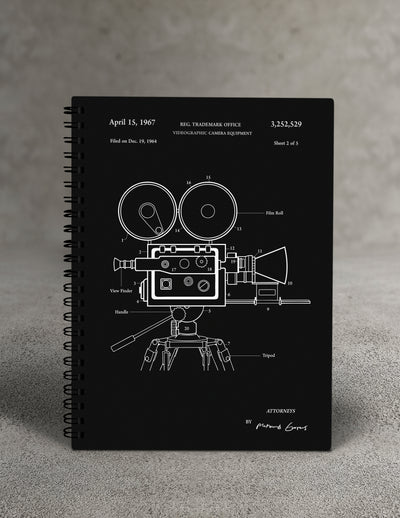 Film Camera Notebook