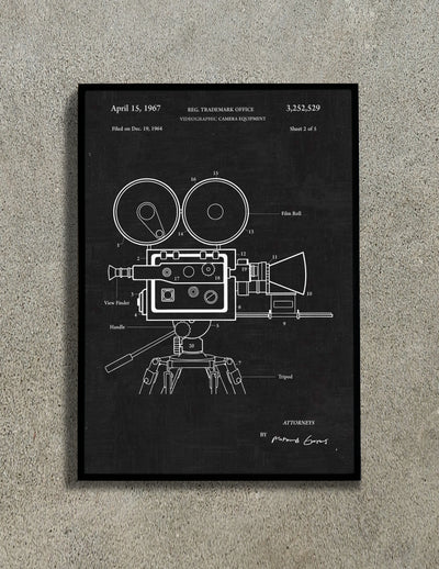 Film Camera Wall Art