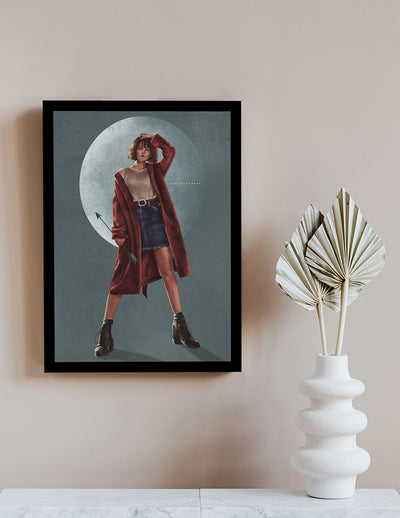 Moonshot Wall Art by Roshan