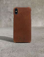 Oslo iPhone XS Max Case - Tan (Brown)