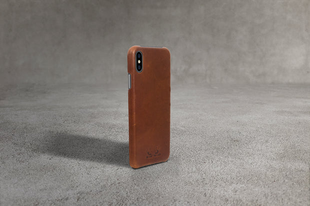 iPhone XS Case - Tan (Brown)