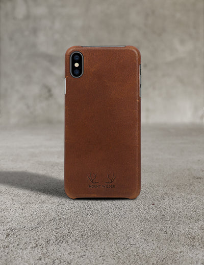 Oslo iPhone XS Case - Tan (Brown)