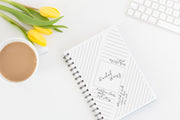 Tranquility  Notebook by Zaid
