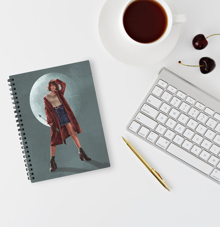 Moonshot Notebook by Roshan