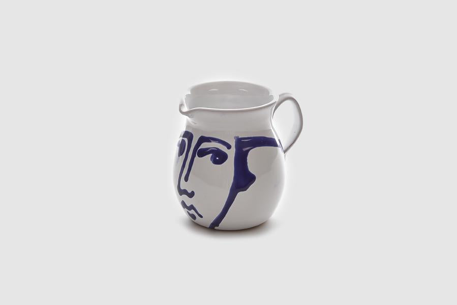 Hand Painted Face Jug 1Lt