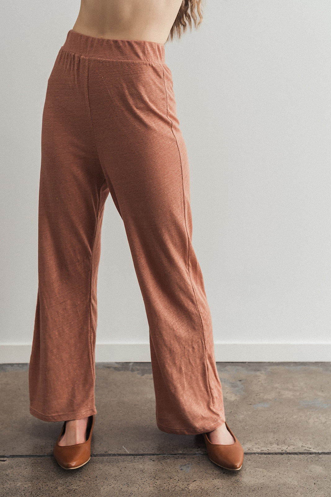 Silica Loungepant Blush - Ricepaperthelabel