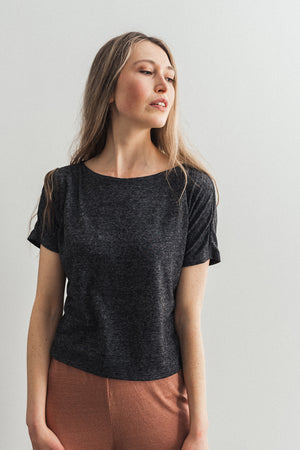 Harp Knit Grey - Ricepaperthelabel