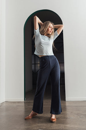 Silica Loungepant Smokey Blue - Ricepaperthelabel