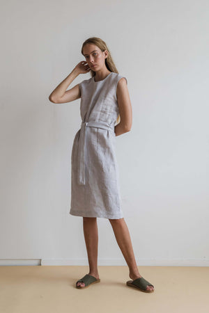 Vaal Dress - Silver - Ricepaperthelabel