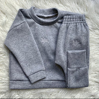Fleece Backed Tracksuit Sweater