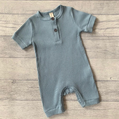 Blue Arman Cotton playsuit