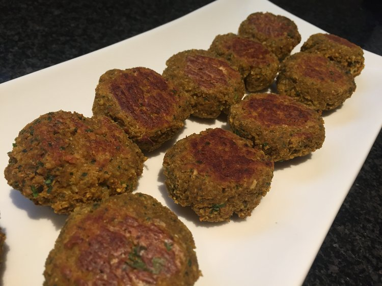 Falafel with a Healthy Twist