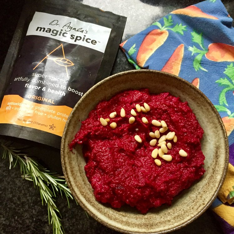 Easy Beet and Tahini Spread