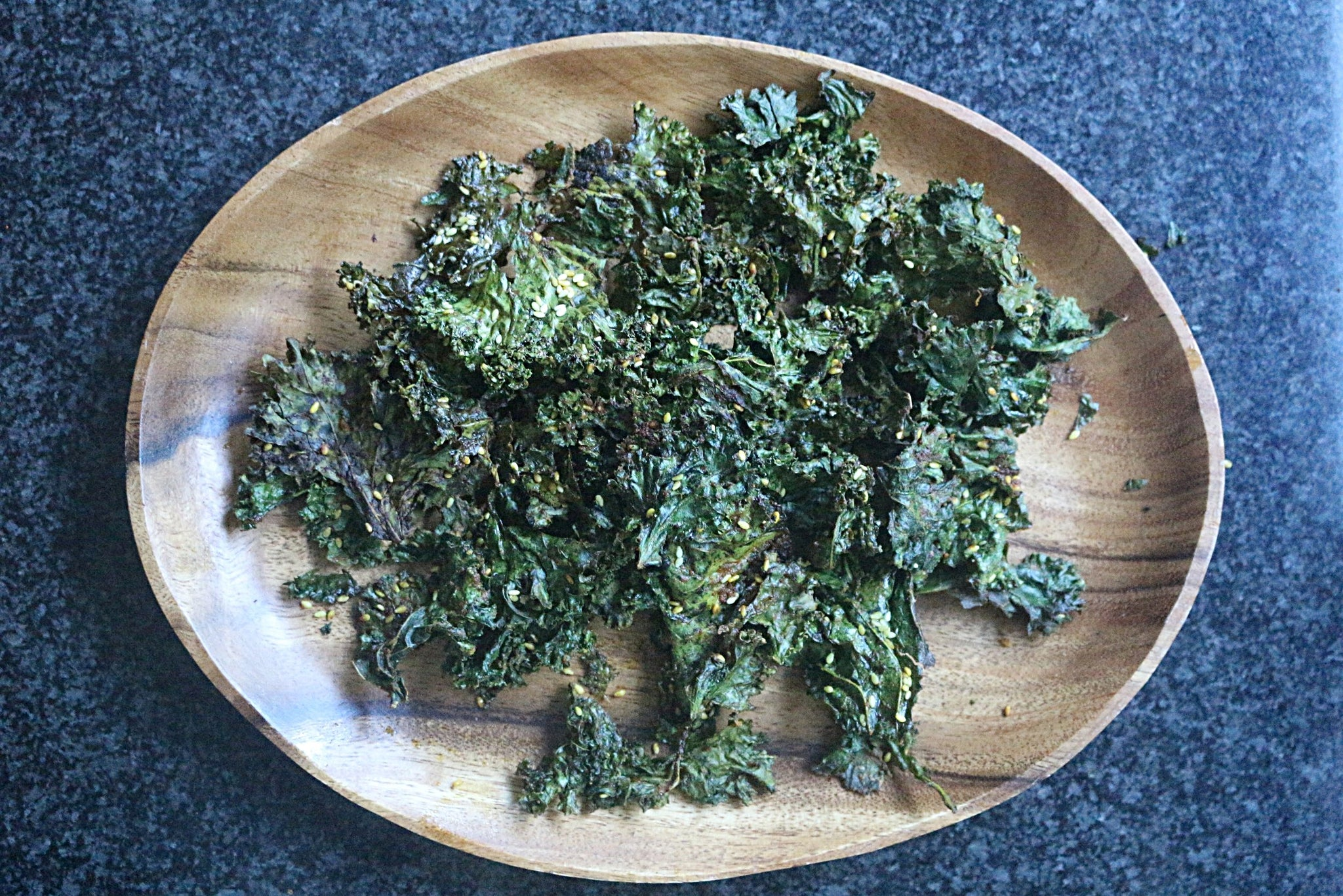 Kale Chips with Extra Magic