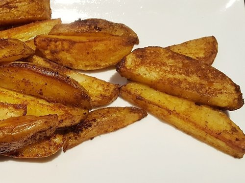 Potato wedges WITH Ayala's Magic Spice
