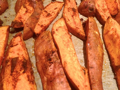 Roasted sweet potatoes WITHOUT Ayala's Magic Spice