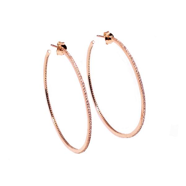 Genesis Hoop Earrings