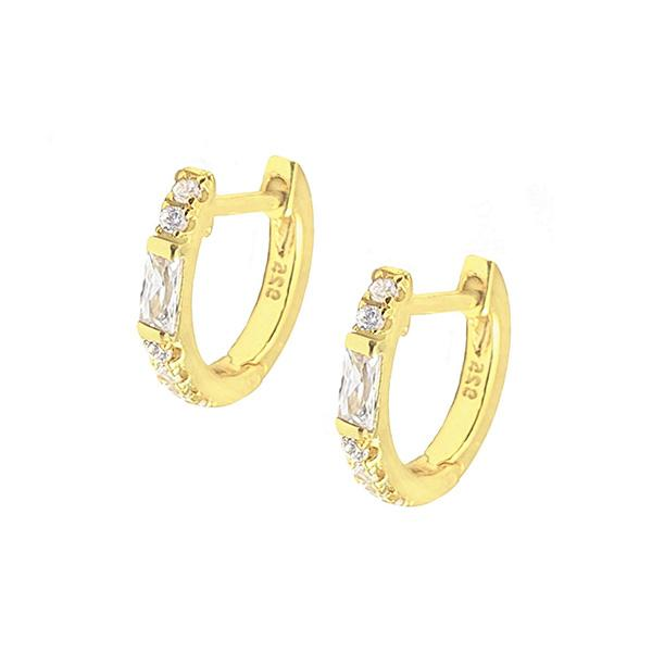 Prudence Huggie Earrings