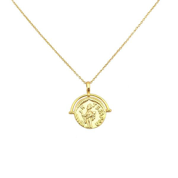 Teeapon Coin Necklace