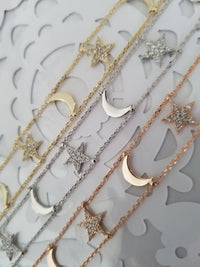 Moon & Stars Jewelry Set