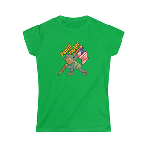 """Pencil Pusher"" Women's Softstyle Tee"