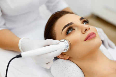 Radio-frequency treatment: face lifting