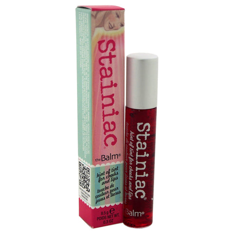 the Balm Stainiac Lip & Cheek tinted