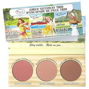 the Balm Blush/ Bronze Girls' Getaway Trio