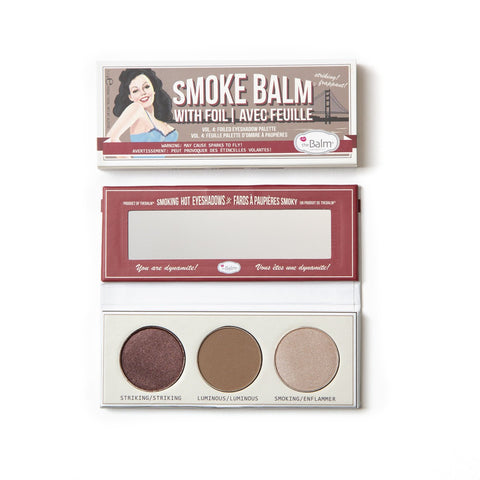 the Balm Eyeshadow palette SmokeBalm Vol. 4
