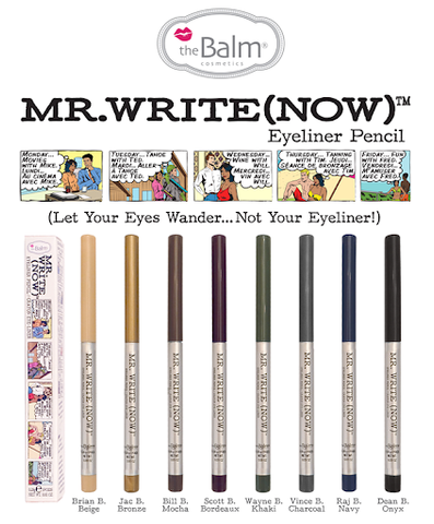 the Balm MR. Write Now Eyeliner Pencil
