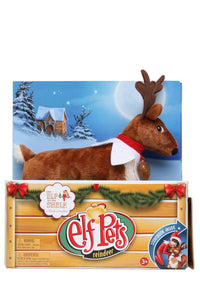 Elf Pets: A Reindeer Tradition Book and Plush Reindeer Gift Set
