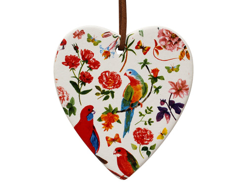 Hanging Heart Pattern Parrot