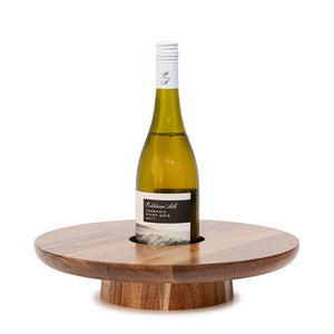 PROVEDORE SERVING BOARD WITH WINE HOLDER - 35CM