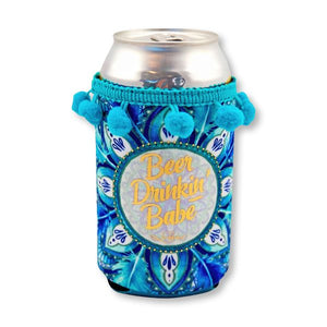 Beer Drinking Babe Can Stubby Hugger