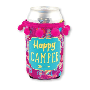 Happy Camper Can Stubby Hugger