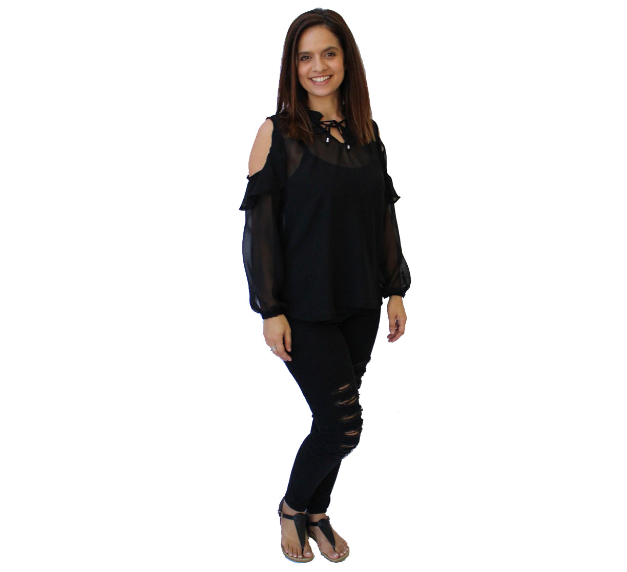 Chantelle Blouse Black