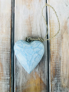 Wooden Heart on Twine