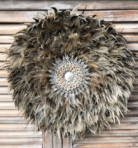 Large Brown Juju Hat