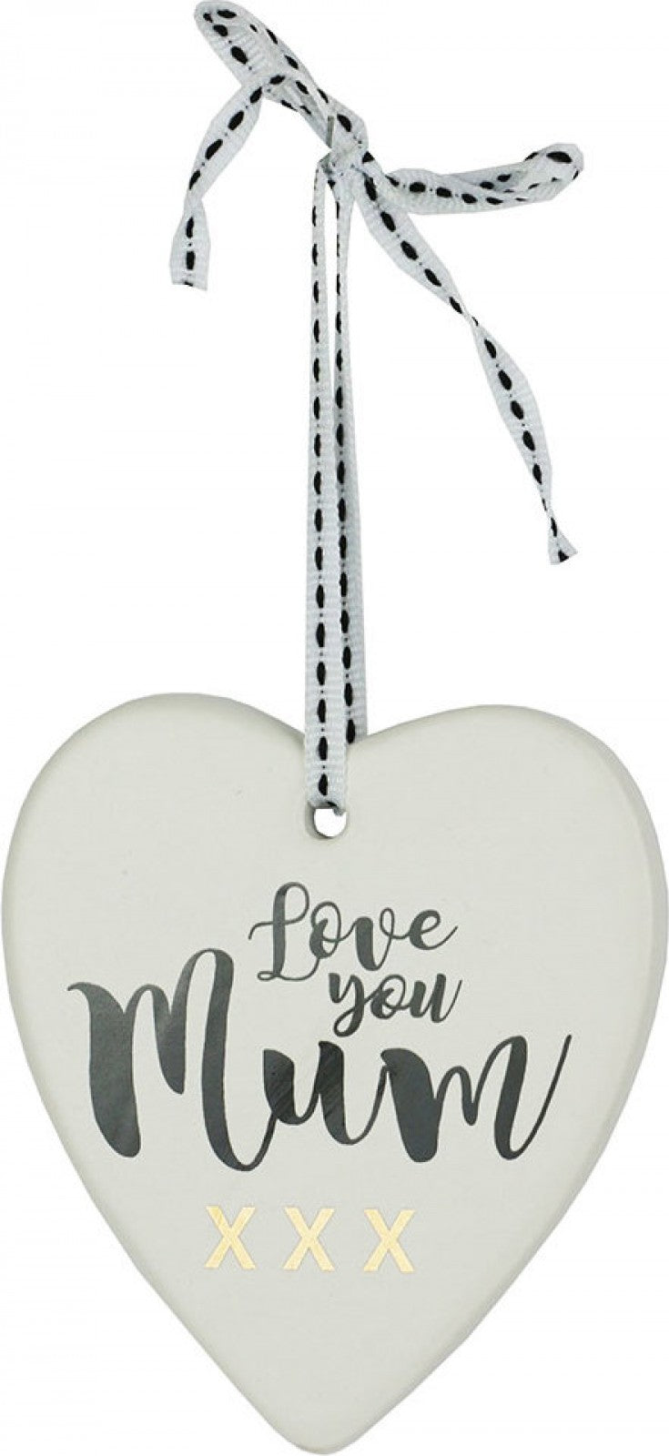 Hanging Heart Love Mum